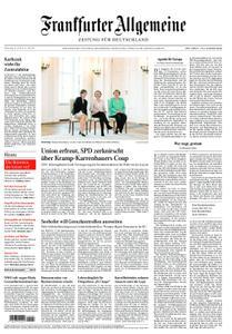 Frankfurter Allgemeine Zeitung F.A.Z. mit Rhein-Main Zeitung - 18. Juli 2019