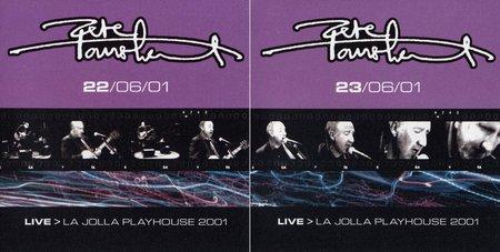 Pete Townshend - Live: La Jolla Playhouse, June 22-23 (2001) [4CD] {Eel Pie}