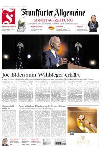 Frankfurter Allgemeine Sonntags Zeitung - 8 November 2020