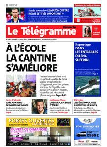 Le Télégramme Brest Abers Iroise – 17 octobre 2021