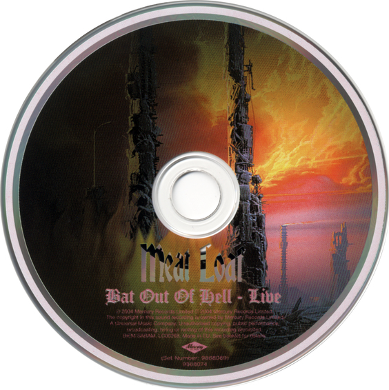 Meat Loaf with The Melbourne Symphony Orchestra - Bat Out Of Hell Live (2004) (Limited edition with bonus DVD)