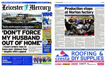 Leicester Mercury – February 14, 2020