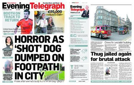 Evening Telegraph First Edition – August 07, 2018