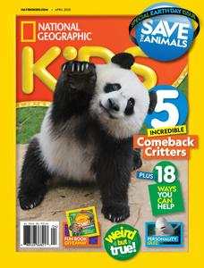 National Geographic Kids USA - April 2020