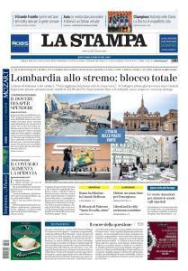 La Stampa Torino Provincia e Canavese - 11 Marzo 2020
