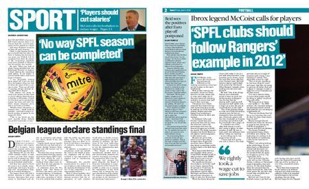 The Herald Sport (Scotland) – April 03, 2020