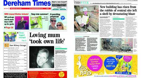 Dereham Times – May 31, 2018