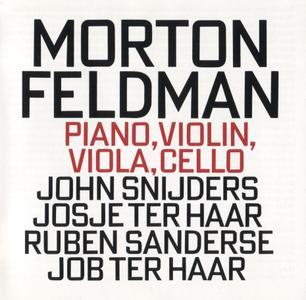 Morton Feldman - Piano, Violin, Viola, Cello - Ives Ensemble (1995) {hat ART CD 6158}