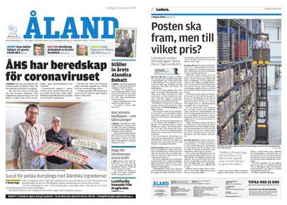 Ålandstidningen – 25 januari 2020
