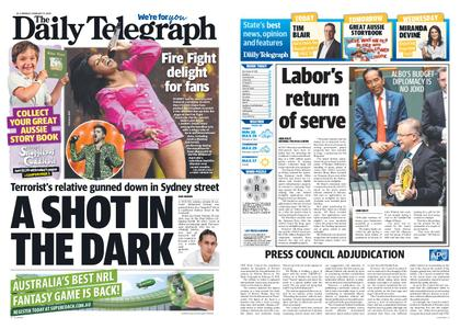 The Daily Telegraph (Sydney) – February 17, 2020