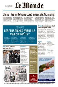 Le Monde du Jeudi 7 Mars 2019