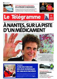 Le Télégramme Auray – 18 janvier 2021