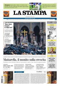 La Stampa Torino Provincia e Canavese - 17 Aprile 2019