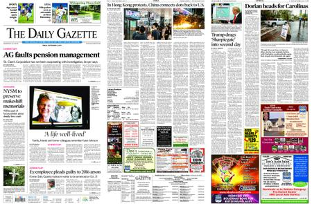 The Daily Gazette – September 06, 2019