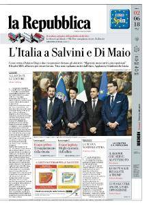 la Repubblica - 2 Giugno 2018