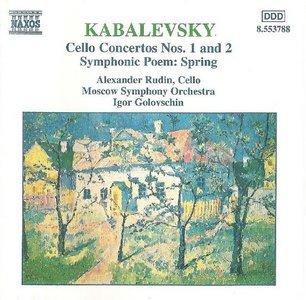 Kabalesvky · Cello Concertos Nos. 1 and 2 · Spring, Op. 65