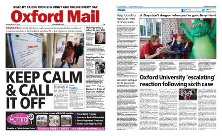 Oxford Mail – March 14, 2020
