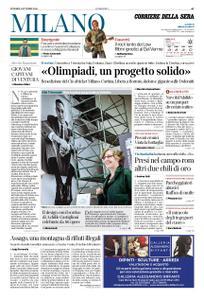 Corriere della Sera Milano – 05 ottobre 2018
