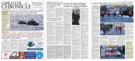 Gibraltar Chronicle – 13 October 2020