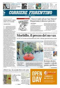 Corriere Fiorentino La Toscana - 27 Gennaio 2018