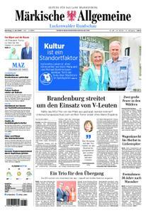 Märkische Allgemeine Luckenwalder Rundschau - 04. Juni 2019