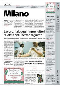 la Repubblica Milano - 11 Dicembre 2018