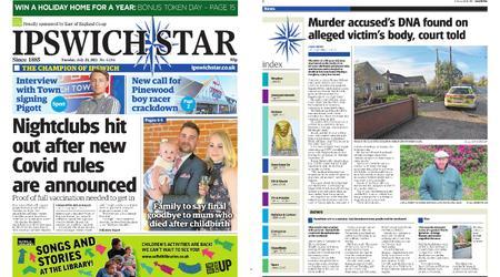 Ipswich Star – July 20, 2021