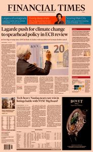 Financial Times Europe – 28 November 2019