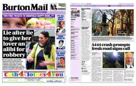 Burton Mail – September 12, 2017
