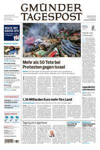 Gmünder Tagespost - 15. Mai 2018