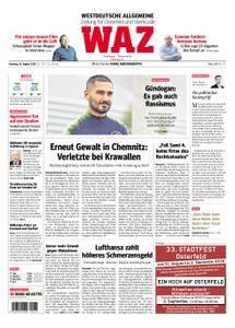 WAZ Westdeutsche Allgemeine Zeitung Oberhausen-Sterkrade - 28. August 2018