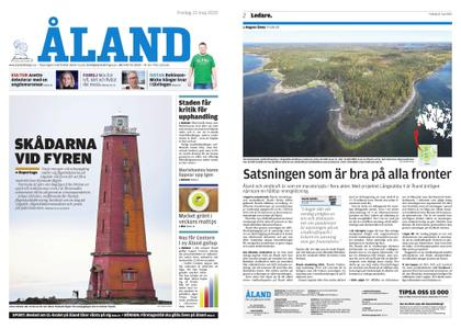 Ålandstidningen – 22 maj 2020