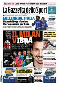 La Gazzetta dello Sport Roma – 21 novembre 2018