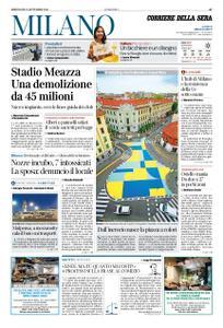 Corriere della Sera Milano – 11 settembre 2019