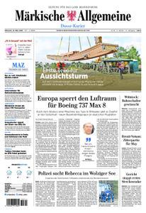 Märkische Allgemeine Dosse Kurier - 13. März 2019