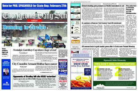 The Laconia Daily Sun – February 20, 2018