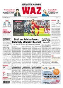 WAZ Westdeutsche Allgemeine Zeitung Oberhausen-Sterkrade - 26. April 2018