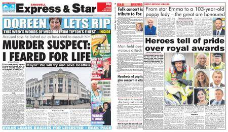 Express and Star Sandwell Edition – June 09, 2018