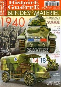 Histoire de Guerre, Blindes & Materiel №77 Juin / Juillet 2007 (reup)