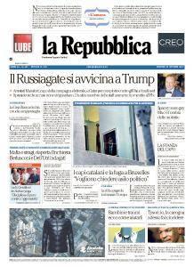 la Repubblica - 31 Ottobre 2017