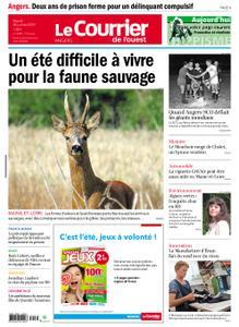 Le Courrier de l'Ouest Angers – 30 juillet 2019