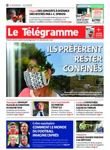 Le Télégramme Auray – 25 mai 2020