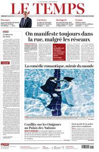 Le Temps - 15 mars 2019