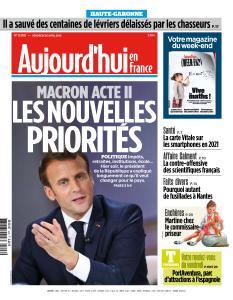 Aujourd'hui en France du Vendredi 26 Avril 2019