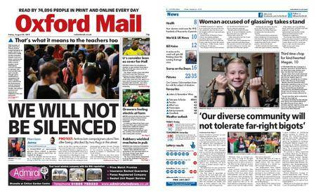 Oxford Mail – August 24, 2018