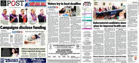 The Guam Daily Post – August 16, 2018