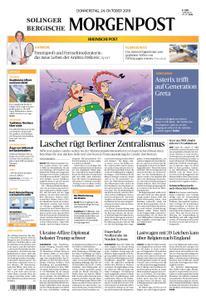 Solinger Morgenpost – 24. Oktober 2019