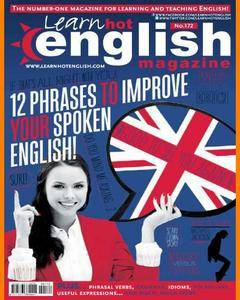 Hot English • Number 172 • Issue 09/2016 • Magazine with Audio CD