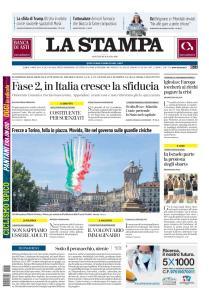 La Stampa Torino Provincia e Canavese - 26 Maggio 2020
