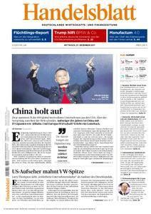 Handelsblatt - 27. Dezember 2017